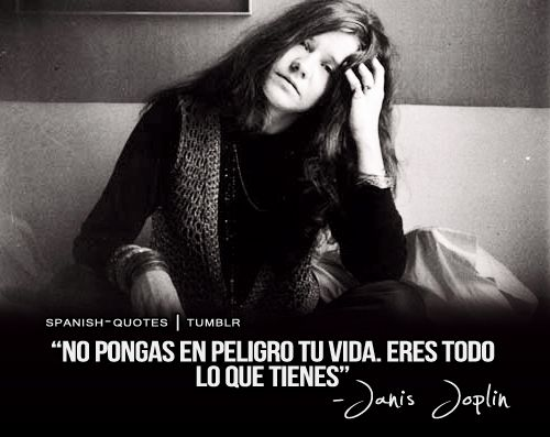 """Don't compromise yourself. You're all you've got."" -Janis Joplin."