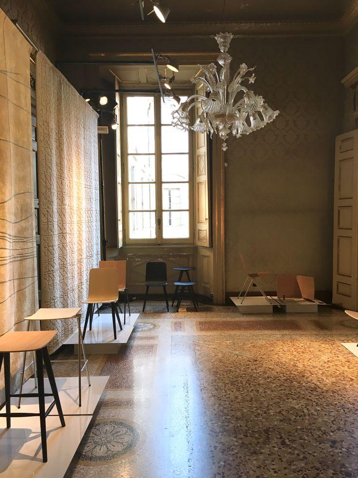 NAAMANKA Furniture at the Milan Design Week 2018. Clash furniture collection design Samuli Naamanka. Design from Finland.