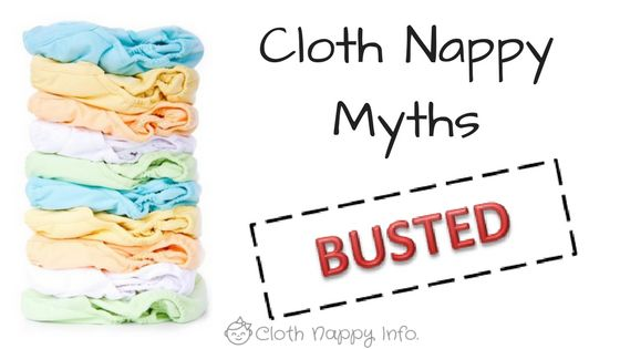 Goodness knows how so many myths have made their way around about cloth nappies. Find out the truth about cloth nappies.