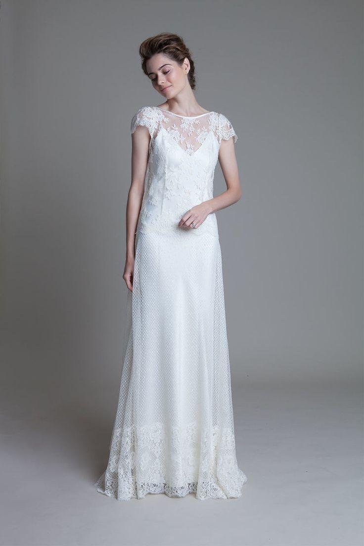 Wedding Wedding Dress Slips 17 best ideas about slip wedding dress on pinterest boho beach ivory iris rose french lace over an v neck by halfpenny london