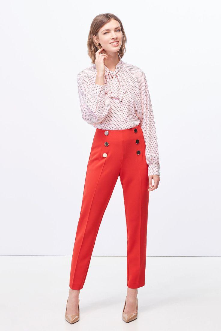 Pantalón botones | Pantalones | Cortefiel