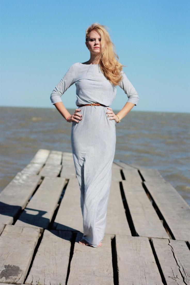 V maxi dress. Shop it on www.theitem.co