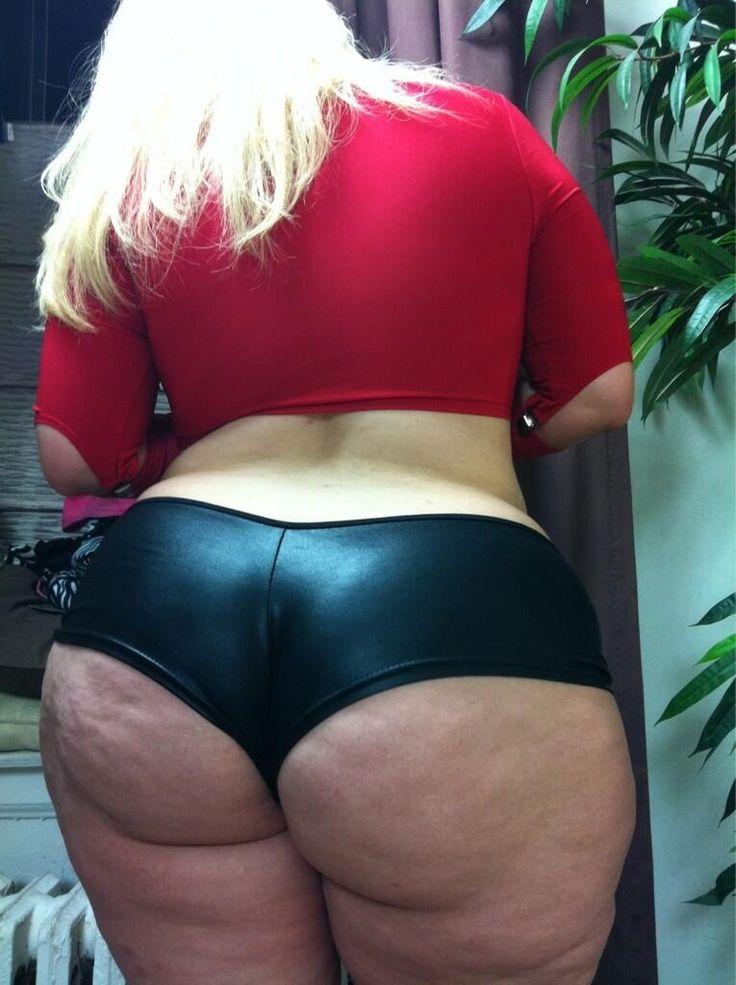 Big ass short shorts really. All