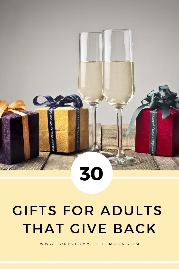 30 Gifts For Adults That Give Back Giftideas Giftguide Presents Giftsforher Giftsforhim