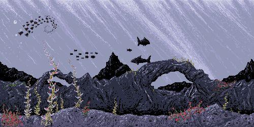 pixel art backgrounds - Google Search