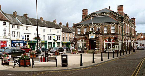 Northallerton town hall.