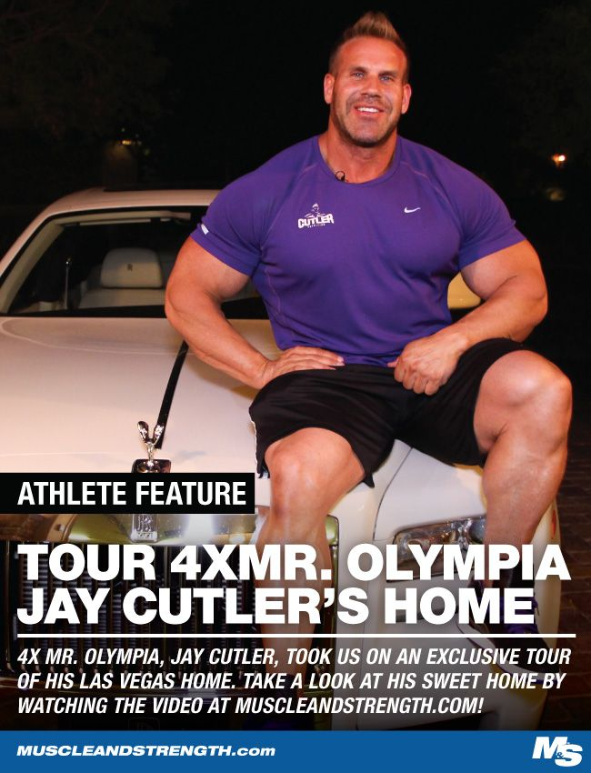 Have you ever wondered what 4x Mr Olympia winner Jay Cutler lives like? Come take an exclusive look at Jay Cutler's Las Vegas home and see for yourself!