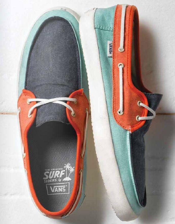 Vans // Colorful Boat Shoes
