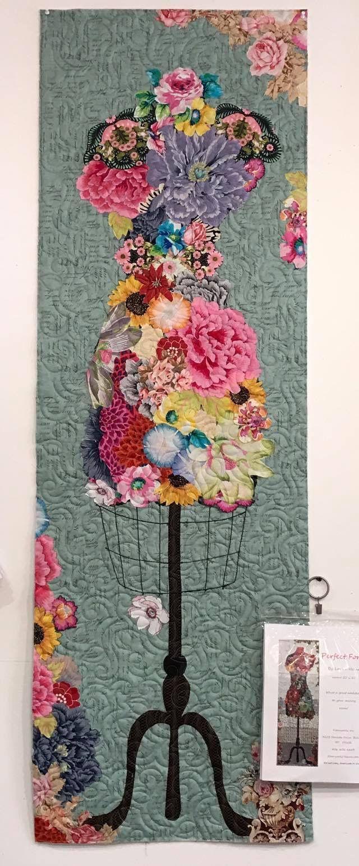 My perfect form laura heine collage quilt