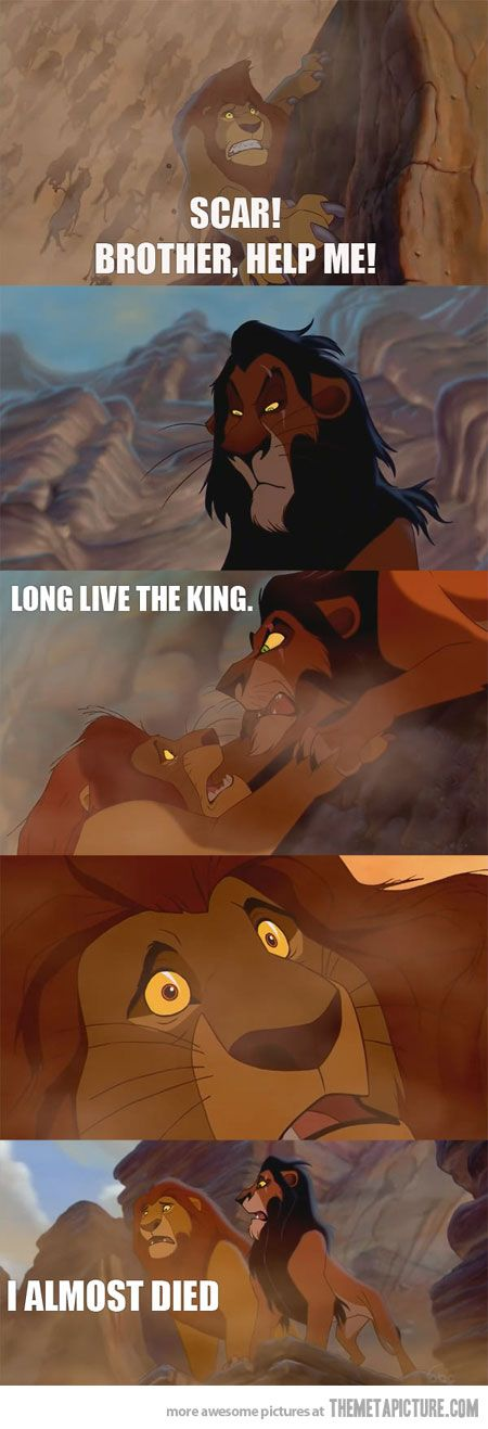 The Lion King would have been a totally different movie…
