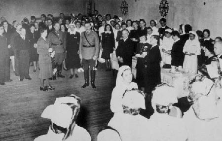 Mannerheim at a Finnish Red Cross Function