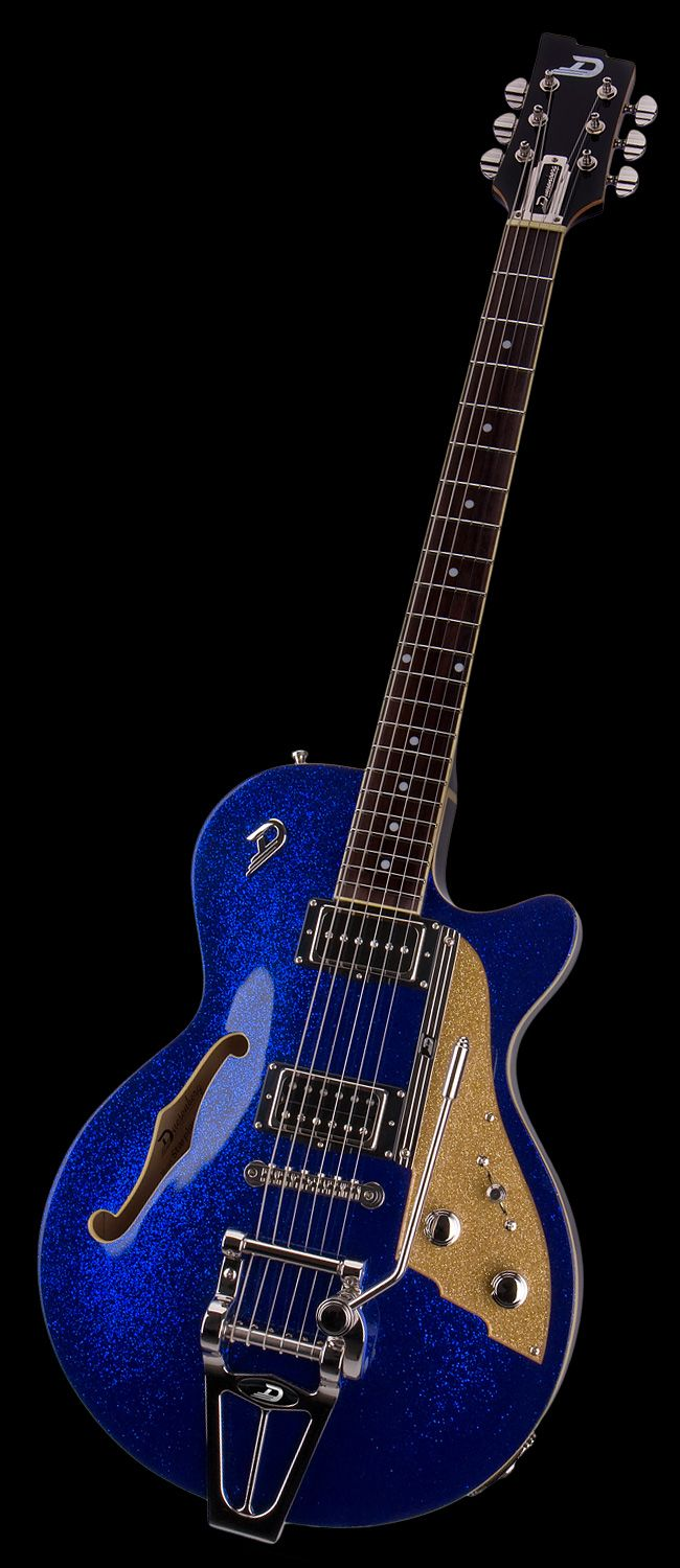 Duesenberg Guitars Starplayer TV Blue Sparkle
