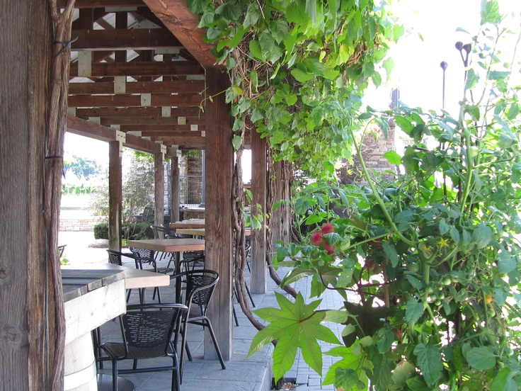 winery outdoor restaurant