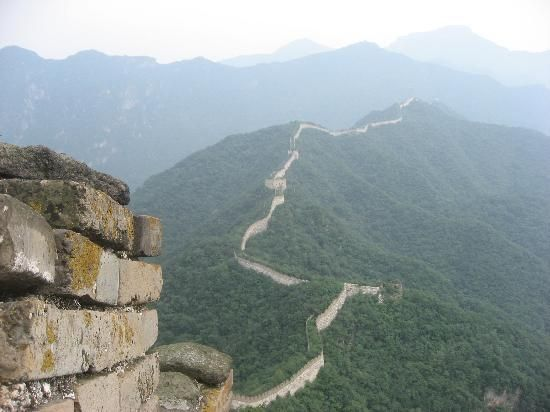 The Great wall of China - Jiankou Section (untouched, no restoration work) See the original wall. @ Beijing, China