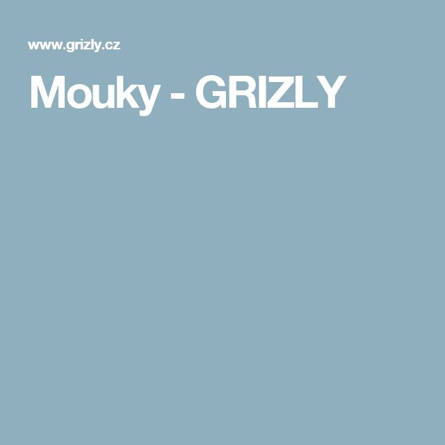 Mouky - GRIZLY