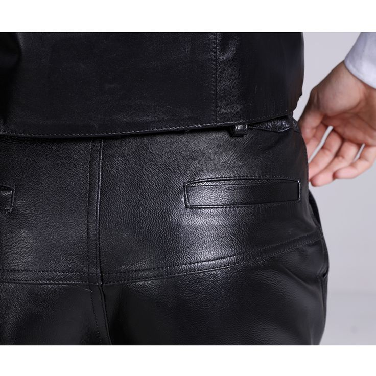 31 44 hombres pantalones de cuero pantalones de invierno de gamuza de cuero Genuino cuero de la motocicleta de espesor completo de piel de oveja macho pantalones en Pantalones casuales de Ropa y Accesorios en AliExpress.com | Alibaba Group