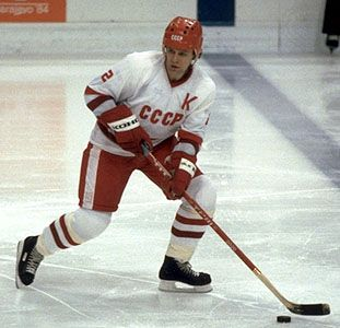"Viacheslav Fetisov #2 has often been referred to as the ""Soviet Bobby Orr."""