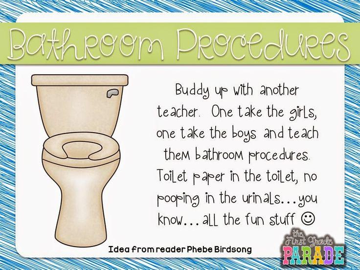 15 Must See Bathroom Procedures Pins Teacher Kindergarten Classroom And Classroom Rewards