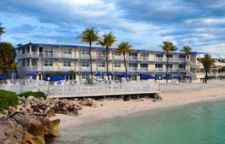 beachfront hotel in Florida Keys