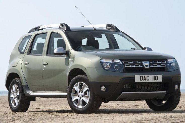 Dacia Duster 2015 front