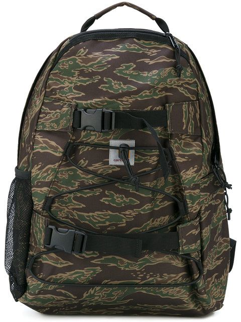 CARHARTT Camouflage Backpack. #carhartt #bags #polyester #backpacks #