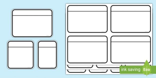 Free Printable Flash Cards Template In 2021 Flash Card Template Printable Flash Cards Free Printable Flash Cards