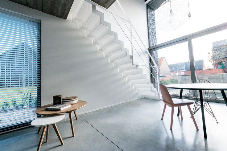 25 beste idee n over metalen trap op pinterest trap ontwerp trappenhuis ontwerp en trappen - Metalen trap design hout ...