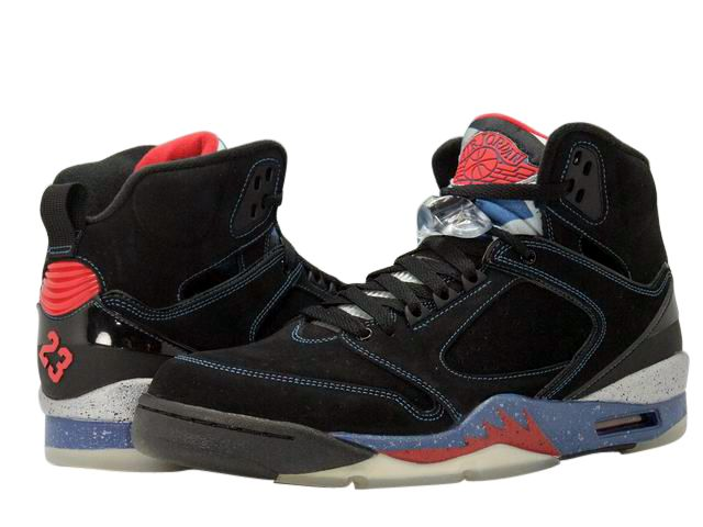 4130176187 ... Air Jordan 60 + (Plus) - Detroit Pistons - Black Varsity Red - French  ...