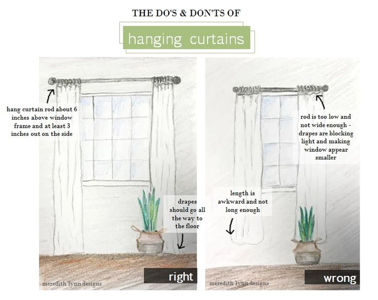 how to hang curtains hang curtain rod close to the ceiling to make the window