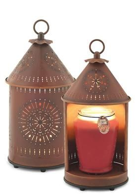 Tin Punched Candle Warmer Lantern: Originals Alternative, Things Primitive, Artists Lamps, Candles Warmers, Crafts Ideas, Gifts Ideas, Lamps Warmers, Electric Candles, The Originals