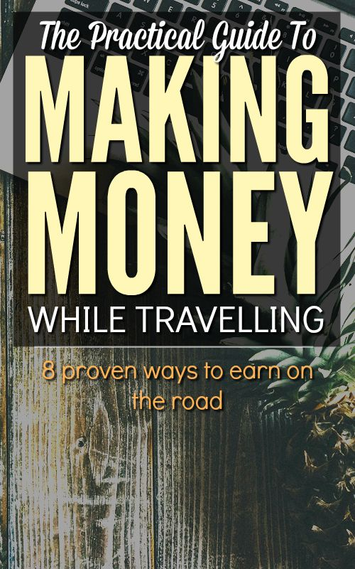 Need to make money while travelling? This amazingly comprehensive guide covers 8 proven ways to do it, including all the resources you need, plus insights from the people who have done it! Super helpful.