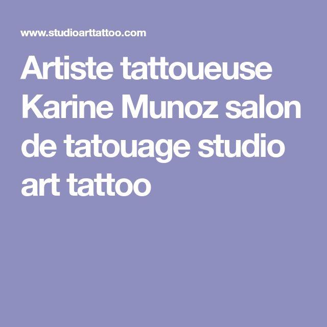 Artiste tattoueuse Karine Munoz salon de tatouage studio art tattoo