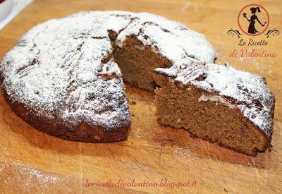 Le Ricette di Valentina: Torta di grano saraceno e noci pecan