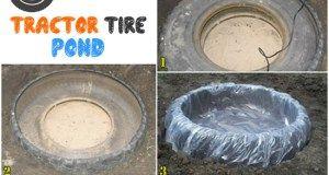 Восстановленный шины для трактора пруд