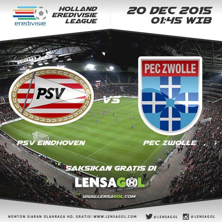 Coming up Netherlands Eredivisie 20 Desember 2015 | 01:45 WIB  PSV Eindhoven  VS PEC Zwolle  Live Streaming dengan kualitas gambar HD-Gratis Bro!!! Nih Bro Link-nya:  http://ift.tt/1Of5F12  Saksikan pertandingan sepakbola lainnya Live hanya di LENSAGOL.com  Salam lensa GOL !  #PSV Eindhoven #PEC Zwolle #lensagol #epl #premierleague  #lfp #laliga #bundesliga #uefa #uefacl #ligue1 #eredivisie #jleague #spfl  #football #live #nontonbola #nontonbolagratis #streamingbolagratis #streaming…
