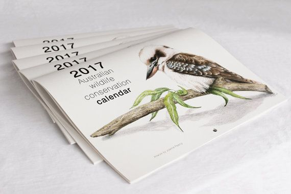 2017 Calendar  Australian wildlife conservation by JosDesktop