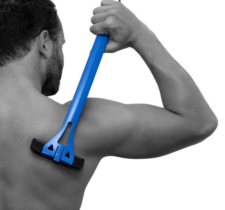 Hair Shaver Replacement 3 BIGMOUTH Back Blade DIY man Body Trimmer baKblade #baKblade
