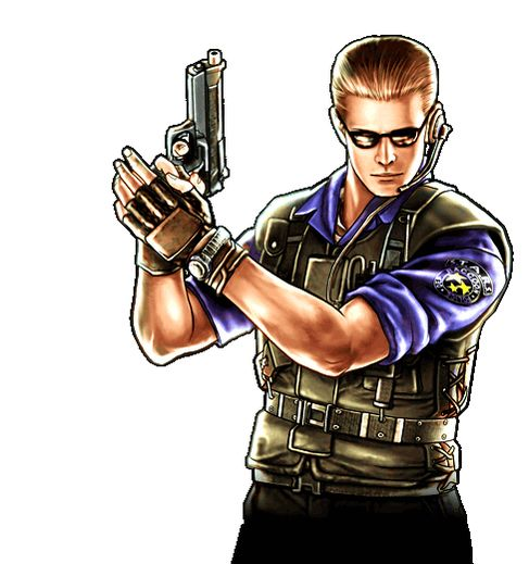 Albert Wesker S.T.A.R.S. RE-UC [PNG] by AlbertWeskerG
