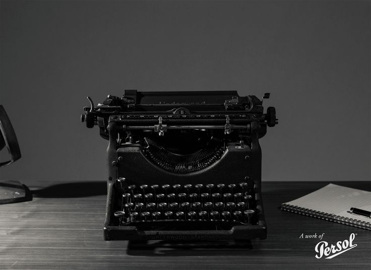 One of literature's oldest friends :: #PersolTypewriter :: http://pers.sl/42jd