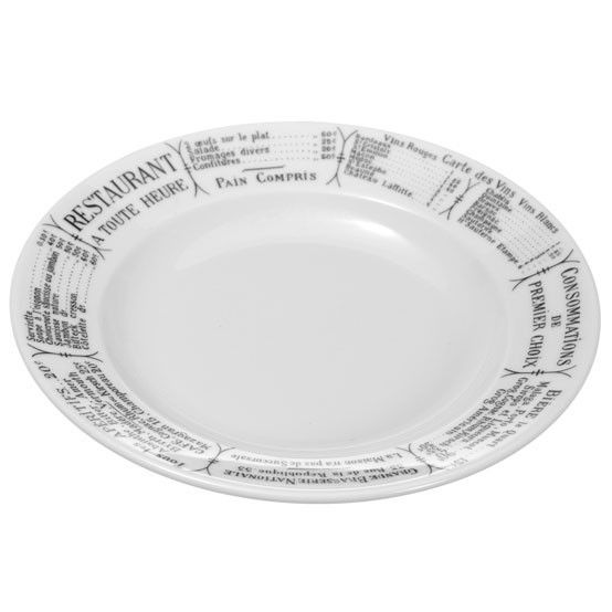 Brasserie Soup Plate Set - (6 per set)  sc 1 st  Pinterest & 24 best Pillivuyt Porcelain images on Pinterest | Utensils ...