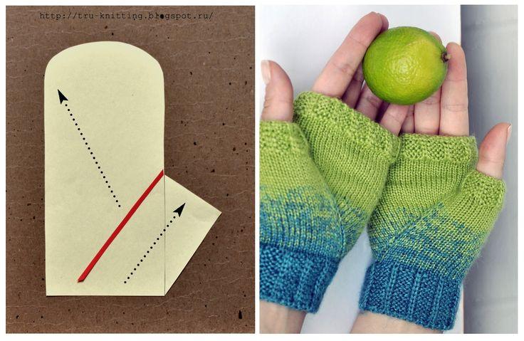 tru-knitting: Вяжем палец. Часть 3