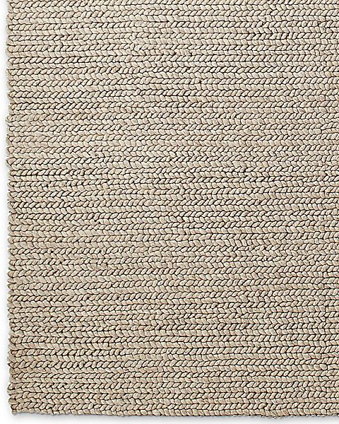 Chunky Braided Wool Rug Collection Rh Oatmeal