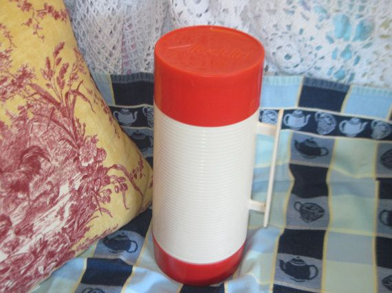 Aladdin Thermos Bigger Size with Lid and by Daysgonebytreasures