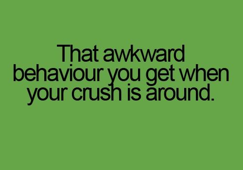 Secret Crush Love Quote For Him: Hahahahahah That Moment When Your Crush Is Around