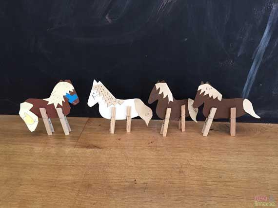 Pferdegeburtstags Bastelei Mit Kindern