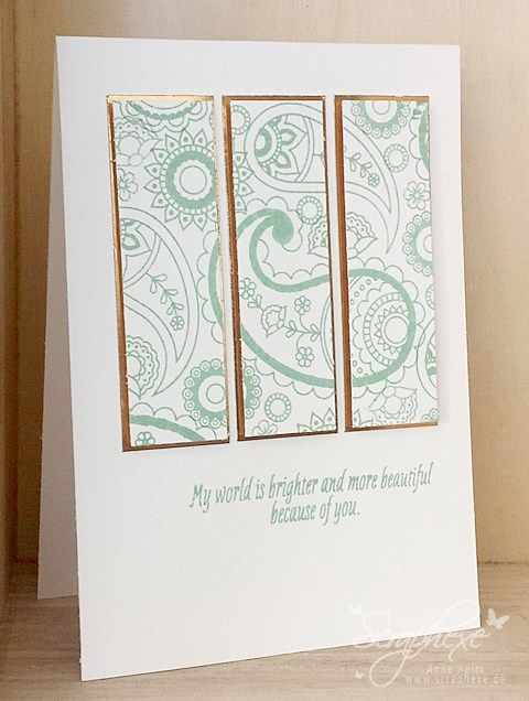 Paisleys & Poisies, Stampin' Up!, scraphexe