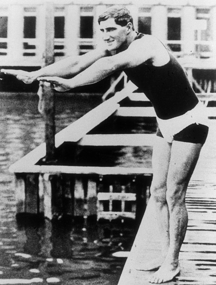 Swimmer Malcolm Champion was the first New Zealander to win an Olympic gold medal. Malcolm won gold in the 4 x 200m relay at the 1912 Olympics #BetheInspiration #RoadtoRio