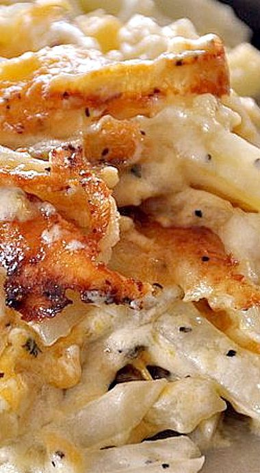 Creamy Cheese Potatoes - a delicious version of scalloped potatoes.