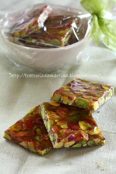Trattoria da Martina - cucina tradizionale, regionale ed etnica: Frastucata o croccante ai pistacchi