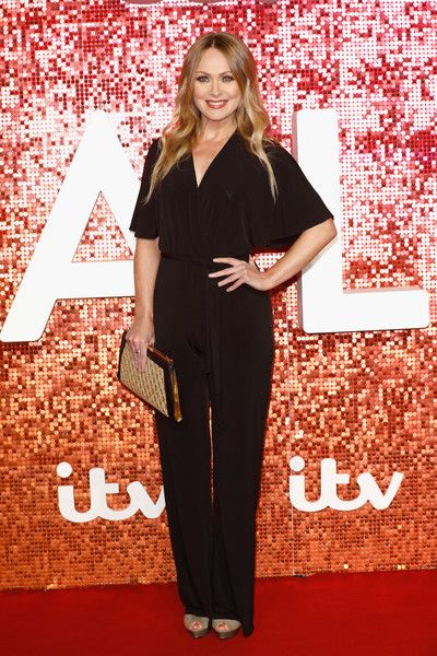 Michelle Hardwick arriving at the ITV Gala held at the London Palladium on November 9, 2017 in London, England.